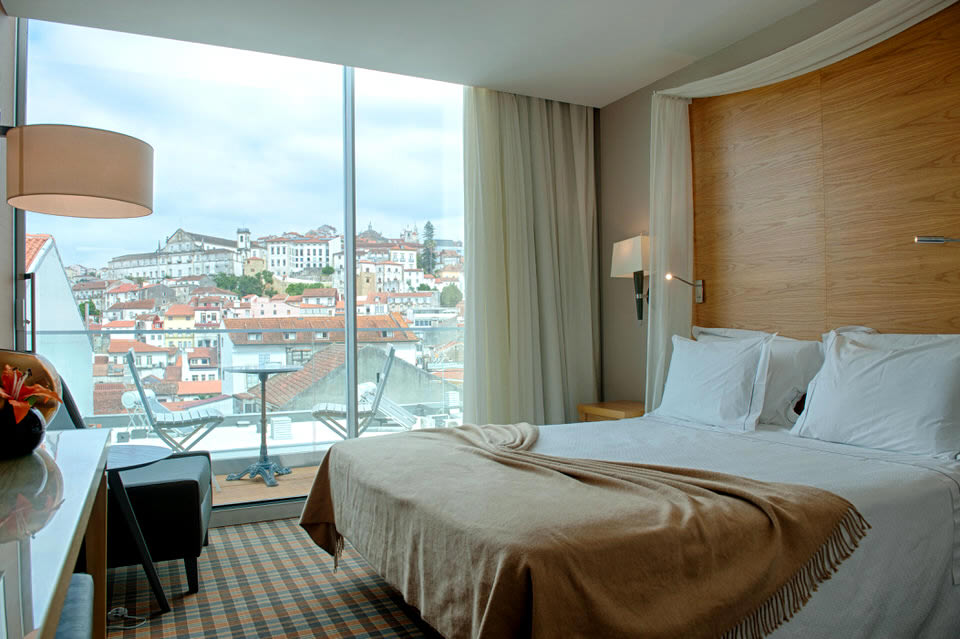 A Boutique Hotel Bedroom in Coimbra