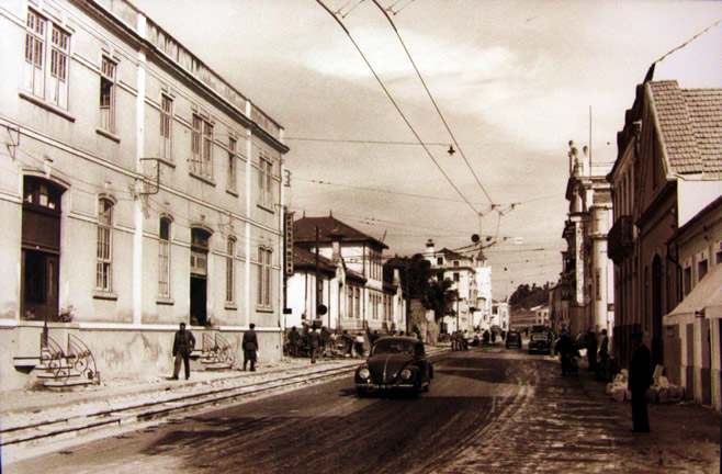 Old Photo of Downtown Coimbra - Hotel Oslo