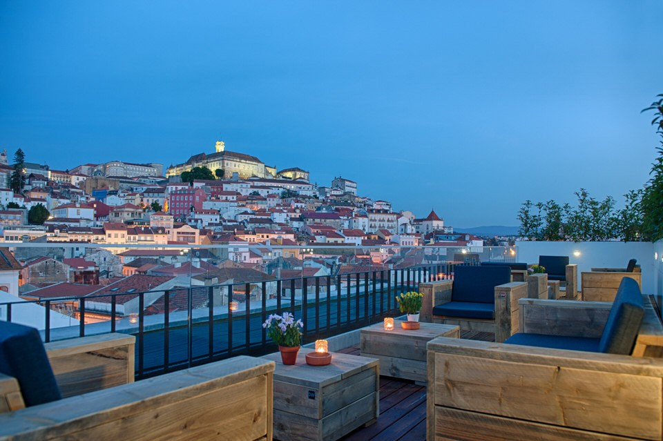 Hotel con vistas a Coimbra