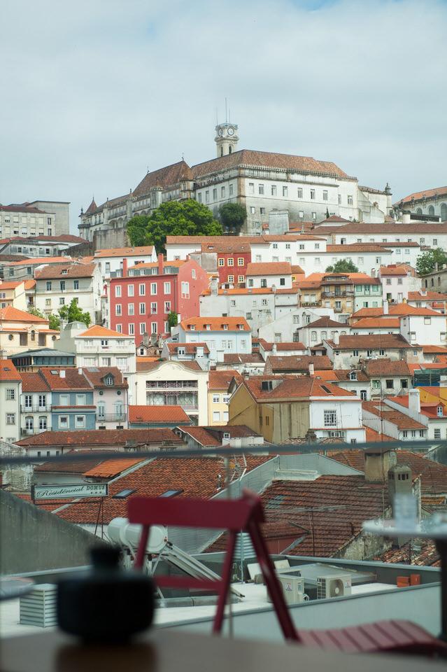 Balcony View Coimbra Hotel