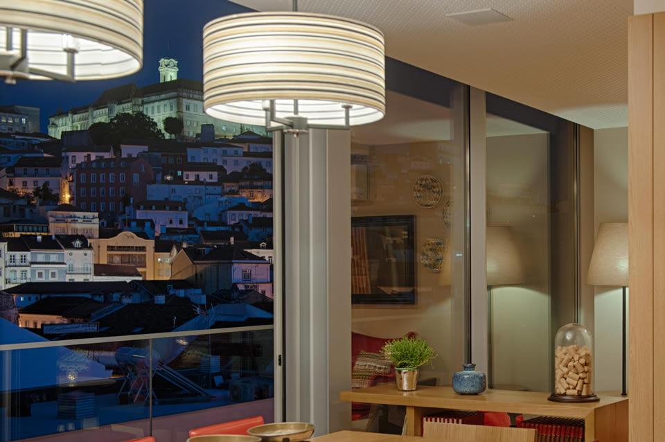 Panoramic View Bar Hotel Coimbra