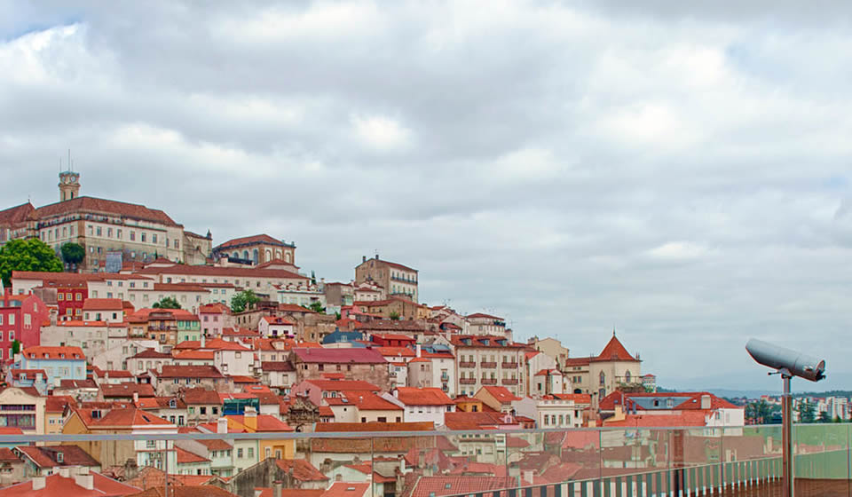 Viewpoint over Coimbra Hotel Oslo