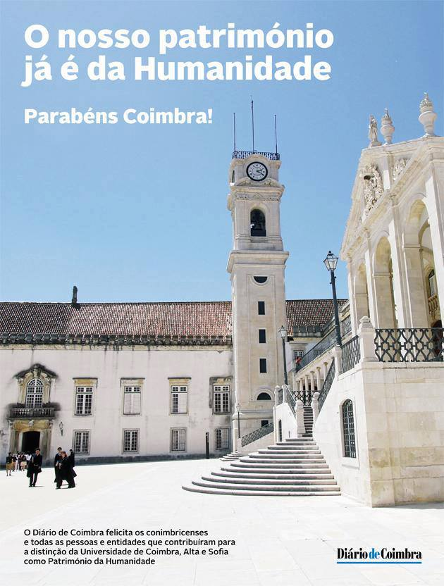 Coimbra - Patrimonio Mundial da Unesco