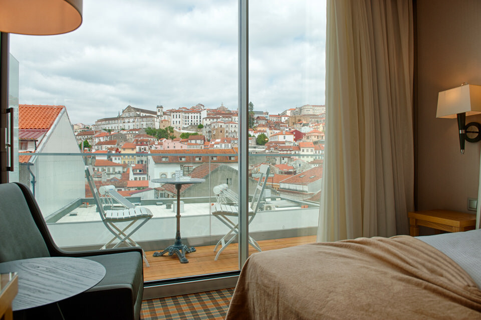 Panoramic bedroom Coimbra Hotel Oslo