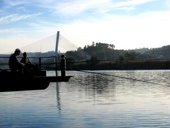Mondego River in Coimbra