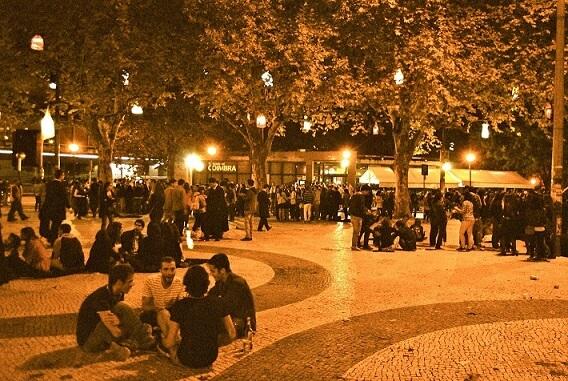 """The """"Praça da República"""""""