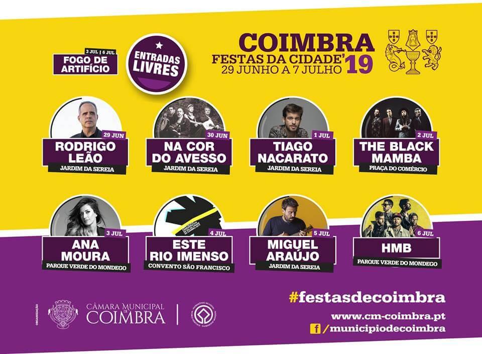 Calender in Coimbra - July 2019