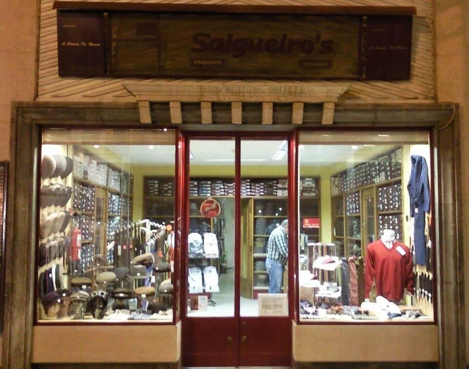 """Salgueiro's - a headwear store in """"Baixa de Coimbra"""""""