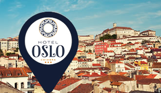 Hotel Oslo se ubica en el centro antiguo de Coimbra, a corta distancia de los sitios de mayor interés.