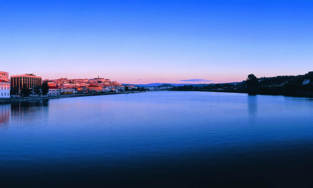 Río Mondego y Coimbra