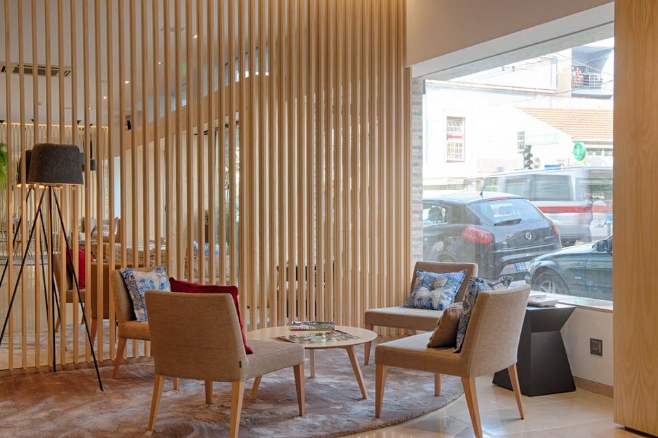 Zona de Estar Lobby - Hotel Oslo Coimbra