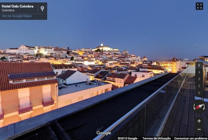 Vista de Coimbra Interactiva
