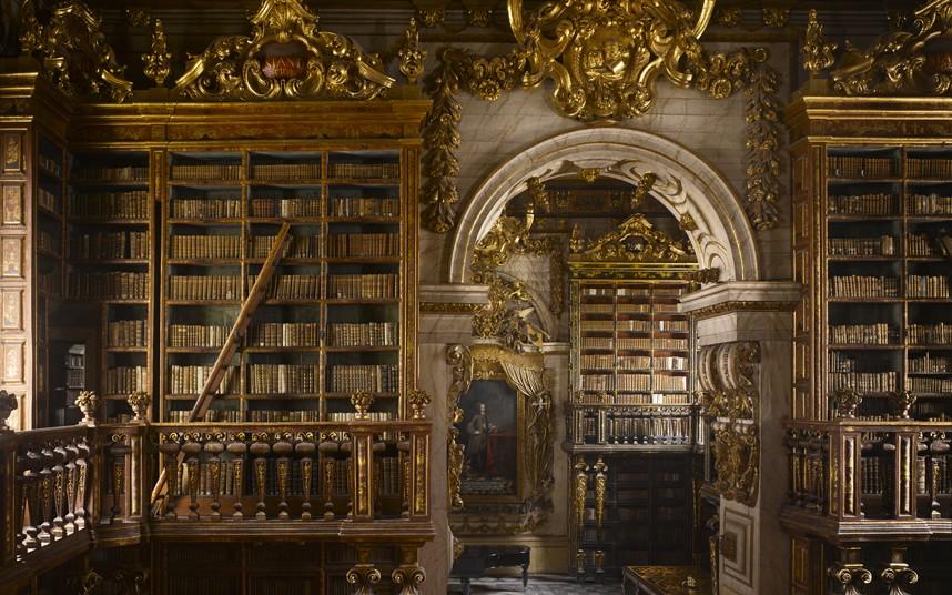 Biblioteca Joanina: la bibliothèque la plus extraordinaire au monde
