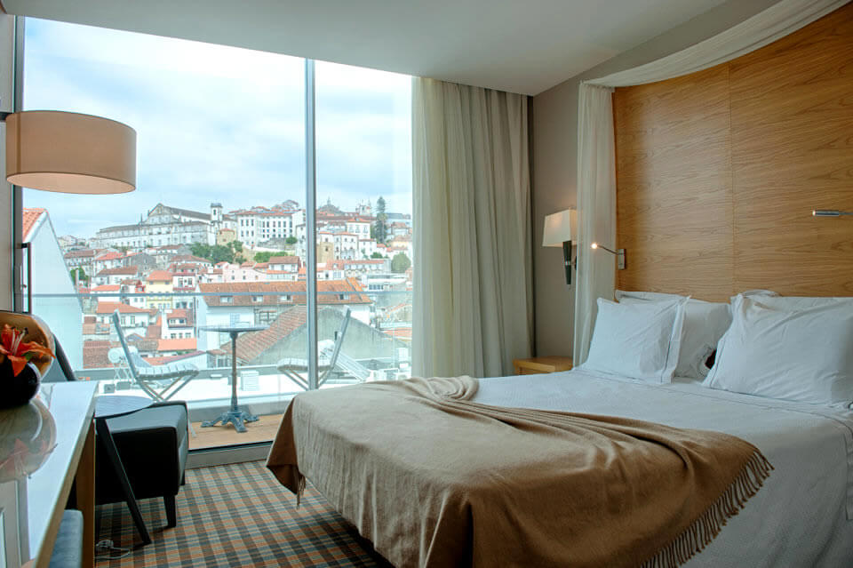 Boutique Hotel Bedroom in Coimbra