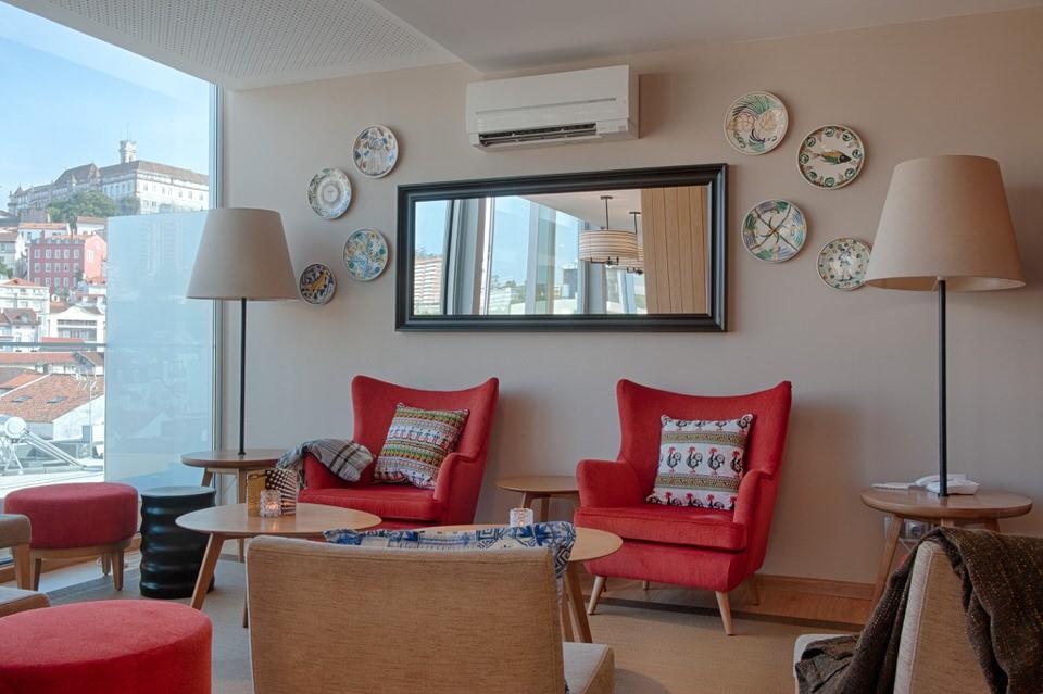 Living Room Hotel Oslo Coimbra
