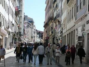 A baixa de Coimbra