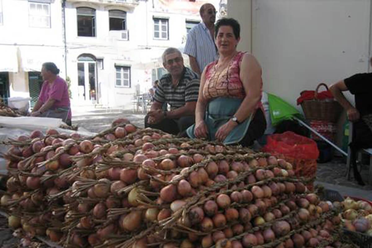 Feira cebolas Coimbra